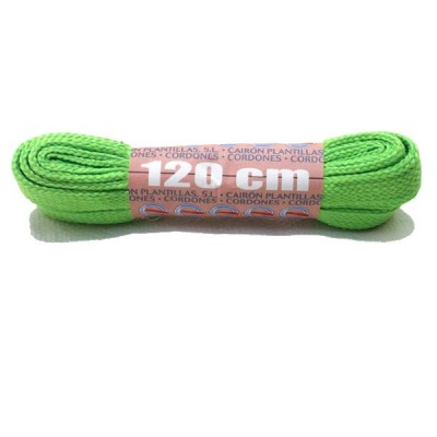 Widths Sholace Fluorescent Green 120cm