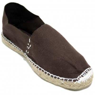 Espadrilles Camping Dark Brown